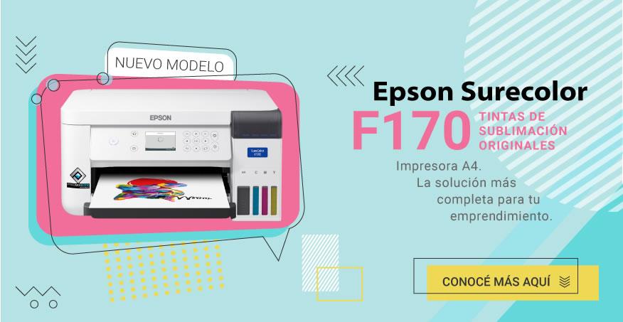 Impresora de Sublimación Epson SureColor F170