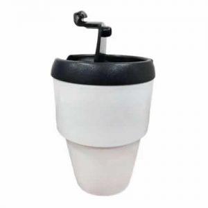 Jarro térmico para café de polímero plástico con tapa