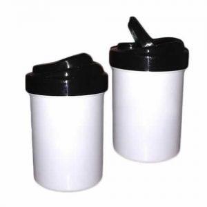Yerbera o Azucarera de polímero plástico para sublimar