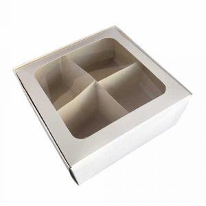 Caja para desayuno o picada de cartón sublimable