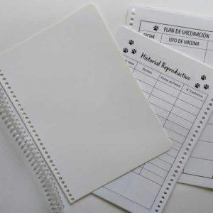 Cuaderno veterinario