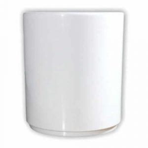 Vaso lapicero de polímero plástico sublimable